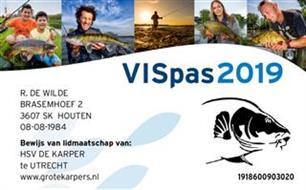 Duplicaat VISpas